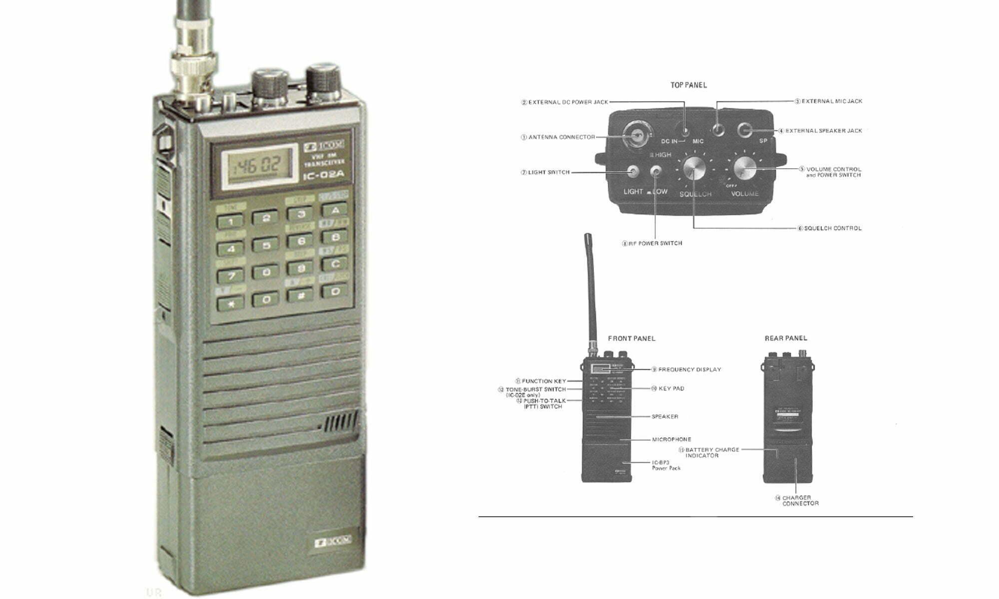 Icom 02 Service Manual