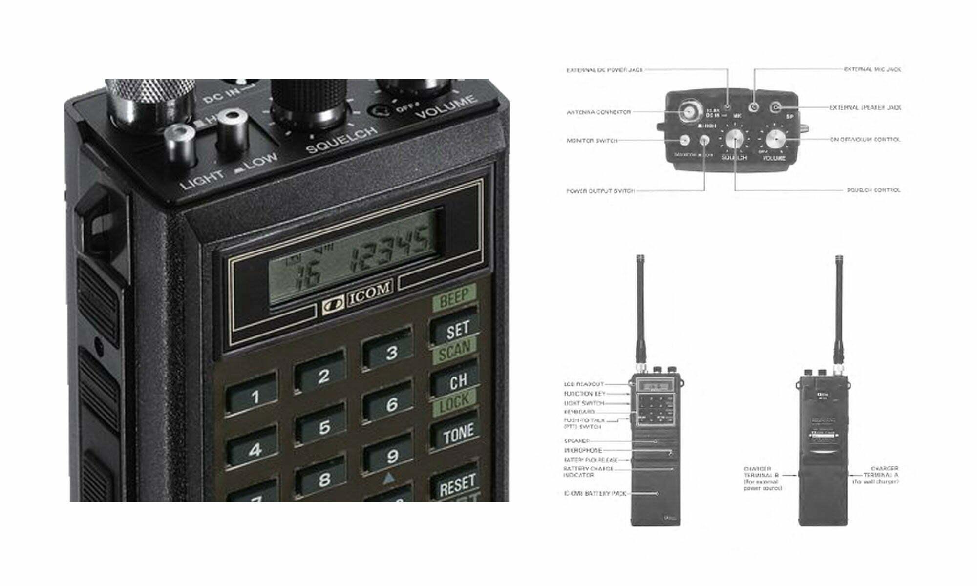 Icom IC-H16 Service Manual