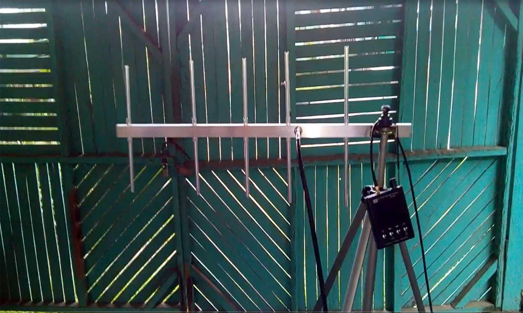 Frequency Sweep Analysis UHF Yagi 435-445Mhz